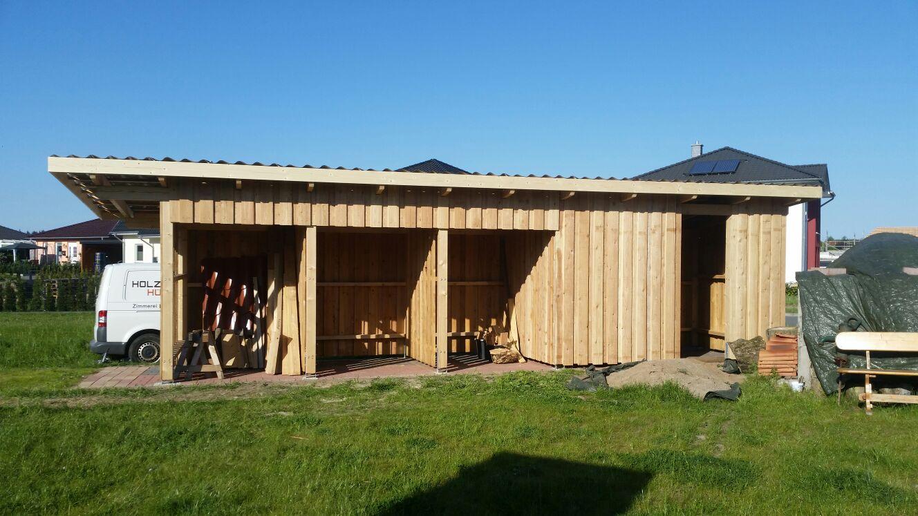 Holzschuppen Sanitz | Holzbau Hübener